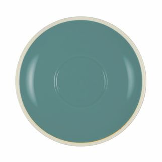 Picture of Brew Teal and White Saucer to suit TOM1277/TOM1186/TOM1185/TOM1197