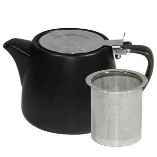 Picture of Brew Smoke Matt Stackable Teapot 500ml with SS Infuser and Lid
