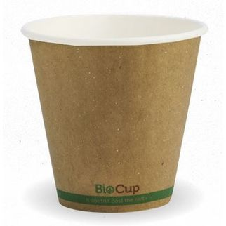 Picture of Biocup Branded Kraft Double Wall Cup 8oz (90mm wide)
