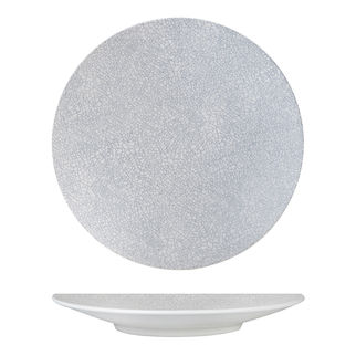 Picture of Luzerne Zen Grey Web Round Coupe Plate 235mm
