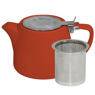 Picture of Brew Saffron Stackable Teapot 500ml with SS Infuser and Lid