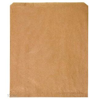 Picture of Brown Paper 3F Flat Bag Pack of 500