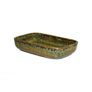 Picture of Artistica Rectangular Dish 170x105x40mm Reactive Brown
