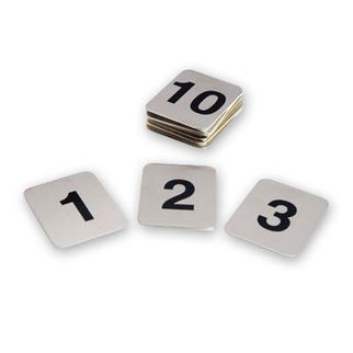 Picture of Adhesive Table Number Set 21-30