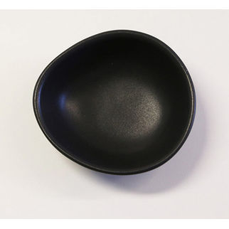Picture of Santo Alessi Organics Salsa/Dip Dish Satin Black 111 x 100mm