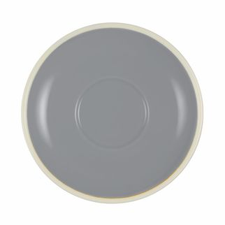 Picture of Brew French Grey and White Saucer to suit Mug