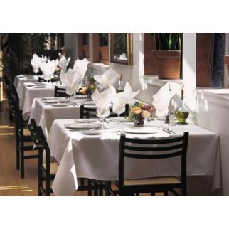 Picture of Alliance Tablecloth White 180x180cm