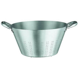 Picture of Aluminium Colander With Rivetted Tubular Handles  00ml