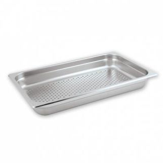Picture of Anti Jam Pan 1/1 Size Perforated 100mm