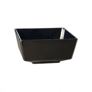 Picture of Aps Deep Square Serving Dish Black 250mm