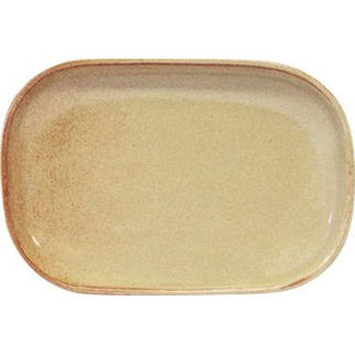 Picture of Artistica Rectangular Coupe Plate Flame