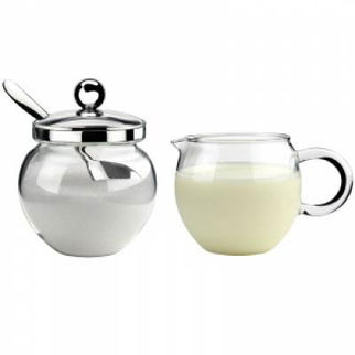 Picture of Athena Creamer And Sugar Bowl Set Athena creamer sugar set