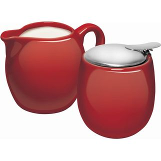 Picture of Avanti Camelia Milk & Sugar Set Red