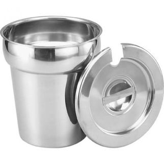 Picture of Bain Marie Insert Stainless Steel Cover 18 8 Suit 8.0L