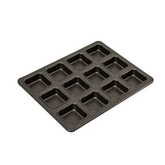 Picture of Bakemaster 12 Cup Square Brownie Pan 340x260mm