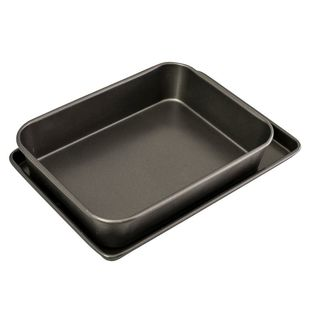 Picture of Bakemaster Roasting / Oven Tray Twin Pack