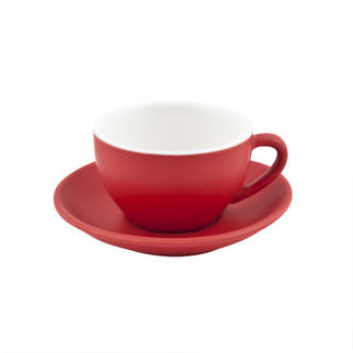 Picture of Bevande Intorno Ross Red Large Cappuccino Cup 280ml