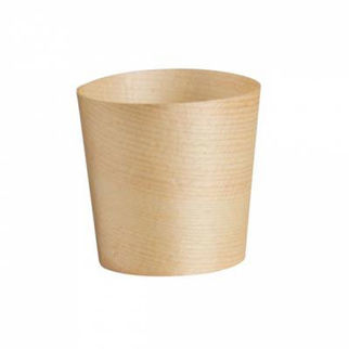 Picture of Bio Wood Disposable Cup Pack Of 50 45mm