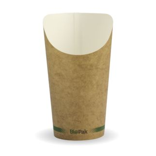 Picture of BioCup Chip Holder Kraft 16oz