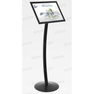 Picture of Black Anodized A3 Size Frame with Stand