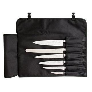 Picture of Black Textile Knife Roll Bag black