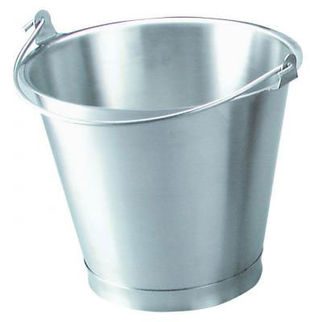 Picture of Bucket 18/8 SS  With Reinforced Base Rim 13 litre