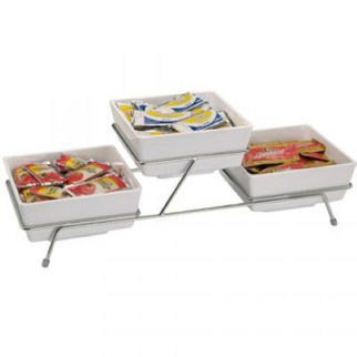 Picture of Buffet Stand With 3 Compartments Stand