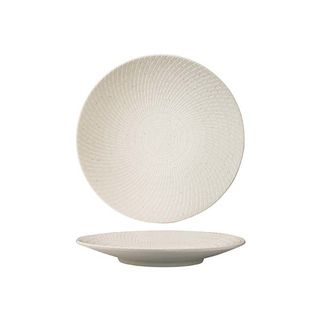 Picture of Luzerne Zen White Swirl Round Coupe Plate 155mm