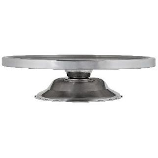 Picture of Cake Stand Stainless Steel 330mm Low Base