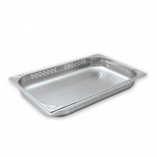 Picture of Cater Chef Pan 1/1 Size Perforated 65mm