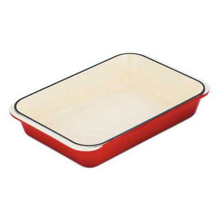 Picture of Chasseur Rectangular Roaster 40x26cm Inferno Red