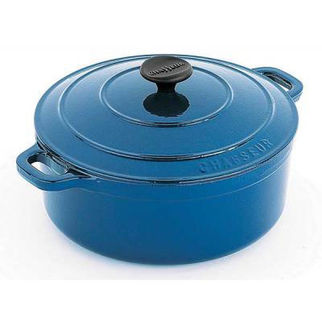 Picture of Chasseur Round French Oven 24cm Sky Blue