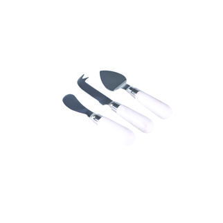 Picture of Cheese Knife Set Marble Handles 3pc