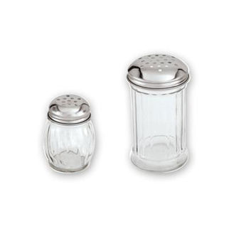 Picture of Cheese Shaker Glass Stainless Steel Lid 335ml