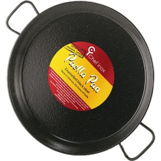 Picture of Chef Inox Enamelled Paella Pan 100mm