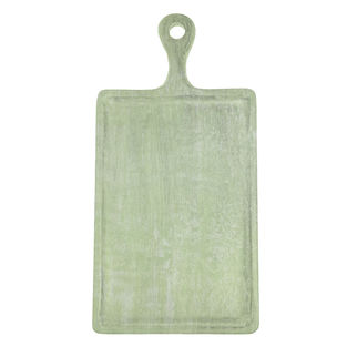 Picture of Chef Inox Mangowood Serving Board Rect W/HDL Green 260mm