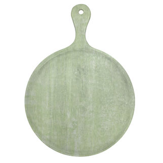 Picture of Chef Inox Mangowood Serving Board Round Green 570mm