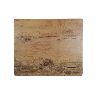 Picture of Chef Inox Melamine Wood Oak Effect Rect 310 x 255mm