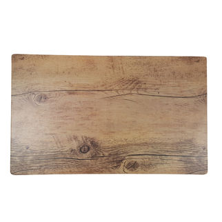 Picture of Chef Inox Melamine Wood Oak Effect Rect 360 x 255mm