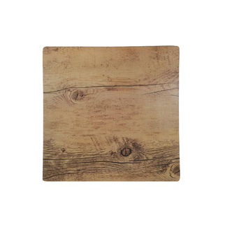Picture of Chef Inox Melamine Wood Oak Effect Square 255mm