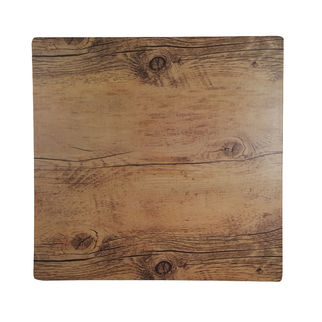 Picture of Chef Inox Melamine Wood Oak Effect Square 310mm