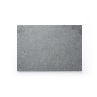 Picture of Chef Inox Rectangular Light Grey Slate Melamine 360 x 255mm