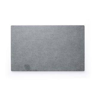 Picture of Chef Inox Rectangular Light Grey Slate Melamine 410 x 255mm