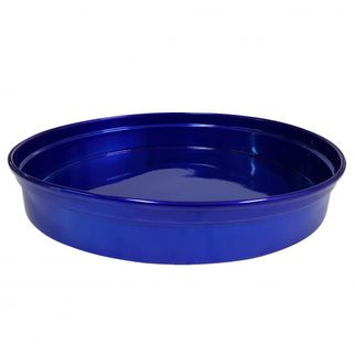 Picture of Chef Inox Round Bar Tray Blue Aluminium 330 x 50mm