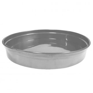 Picture of Chef Inox Round Bar Tray Silver Aluminium 330 x 50mm