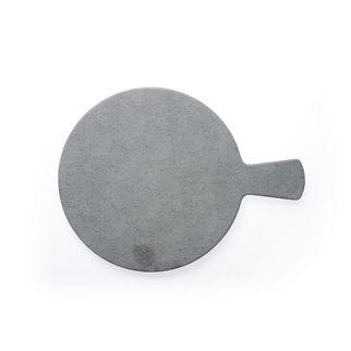 Picture of Chef Inox Round w Handle Light Grey Slate Melamine 370mm
