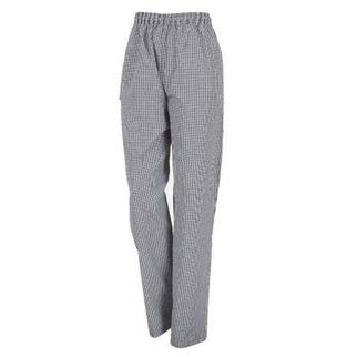 Picture of Chefs Drawstring Pants Traditional Check Medium