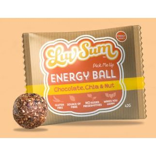 Picture of LUVSUM Chocolate, Chia and Nut Protein Ball x 12
