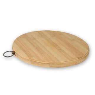 Picture of Chopping Board Bamboo Round 20mm 300mm