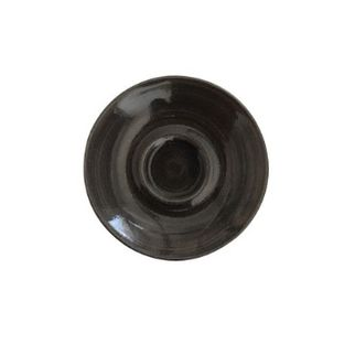 Picture of Churchill Monochrome Saucer Onyx Black 118mm